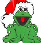 frog for Christmas